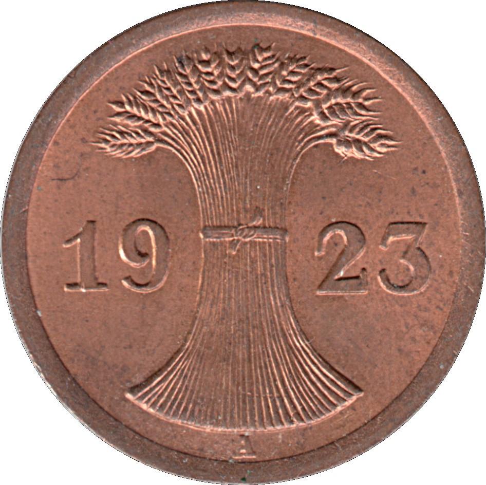 Germany 2 Rentenpfennig (1923-1924)