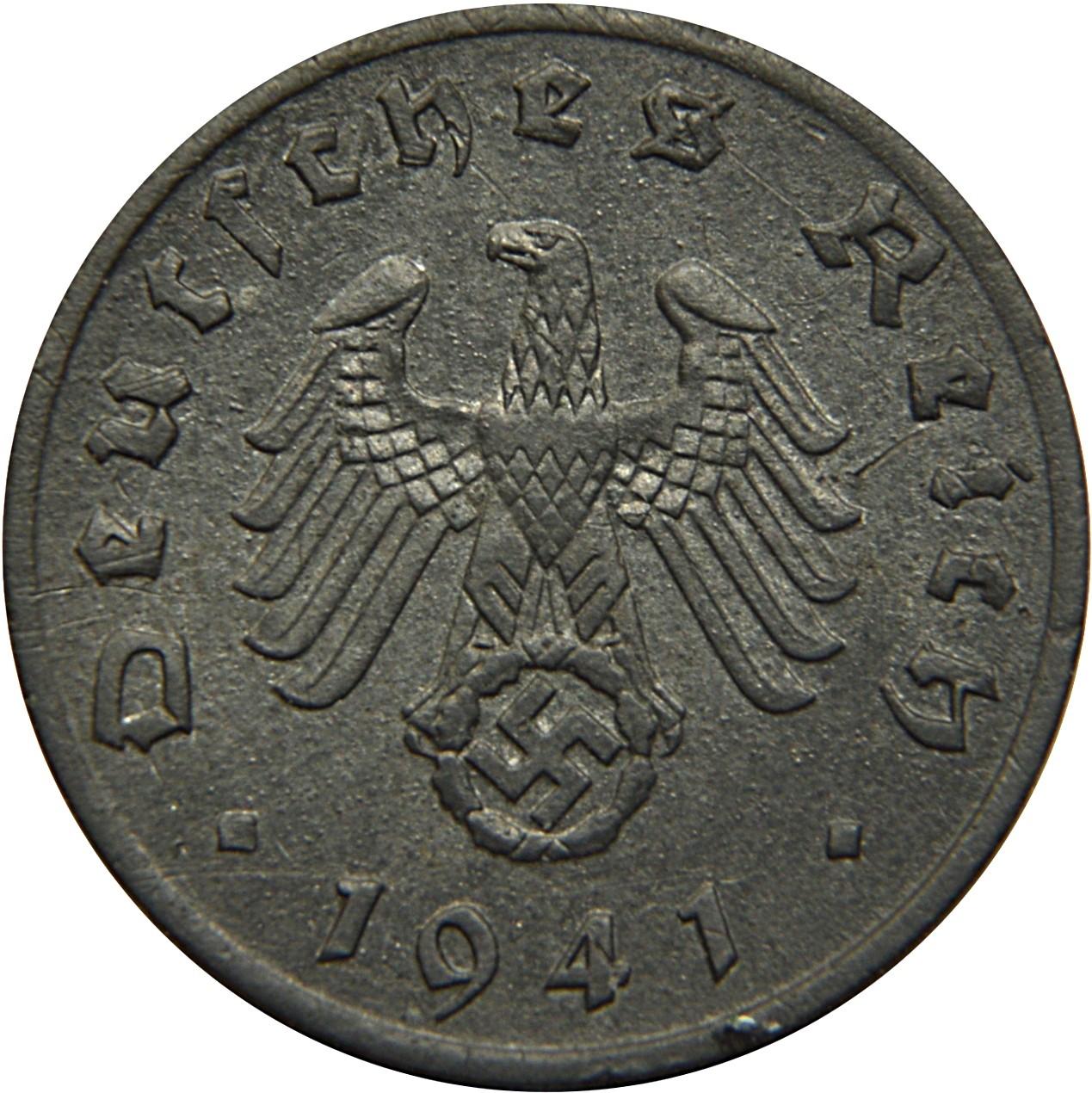 Germany 1 Reichspfennig (1940-1945)