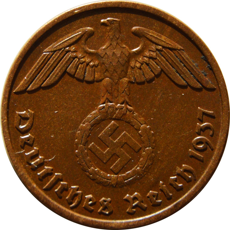 Germany 2 Reichspfennig (1936-1940)