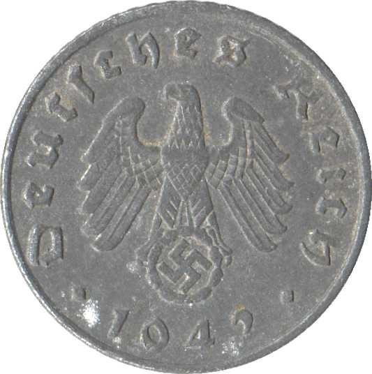 Germany 5 Reichspfennig (1940-1944)