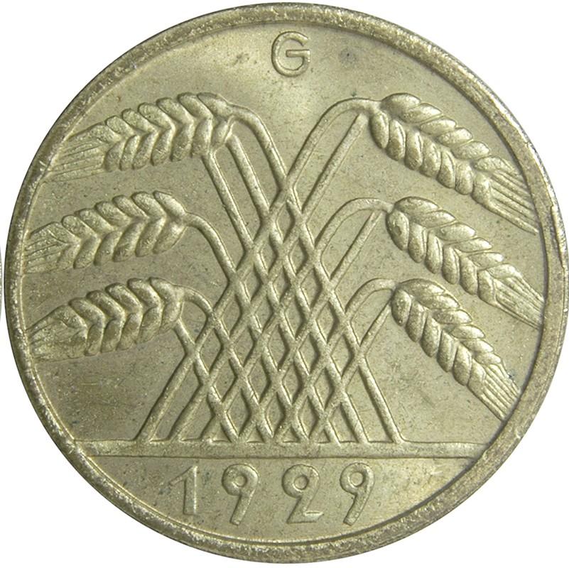 Germany 10 Reichspfennig (1924-1936)