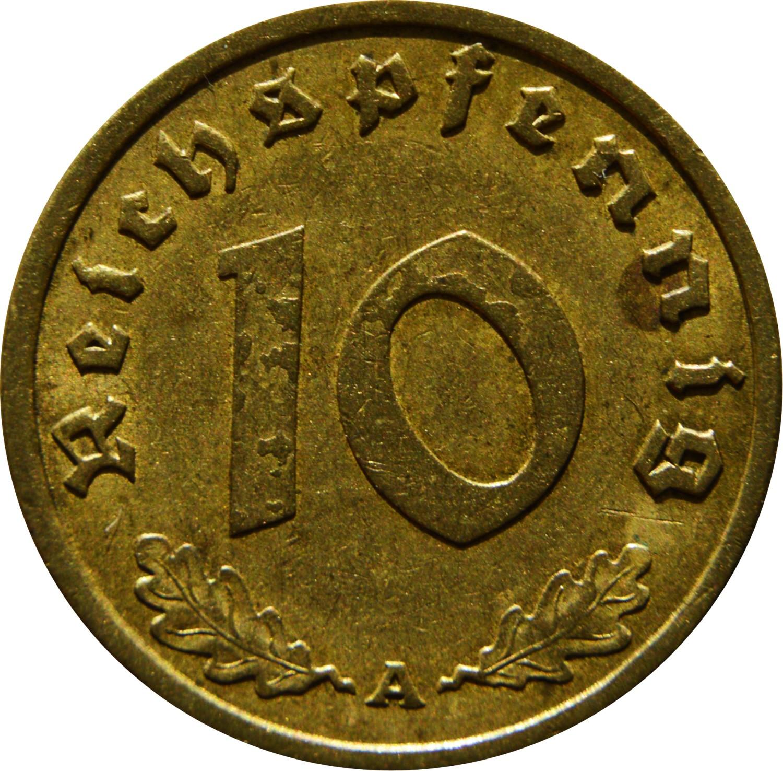Germany 10 Reichspfennig (1936-1939)