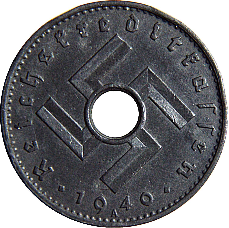 Germany 10 Reichspfennig (1940-1941 Military Coinage)