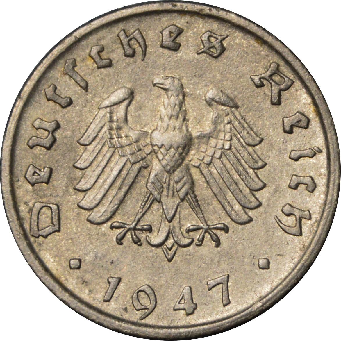 Germany 10 Reichspfennig (1945-1948 Allied Occupation)