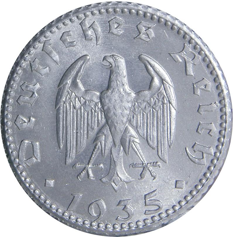 Germany 50 Reichspfennig (1935)