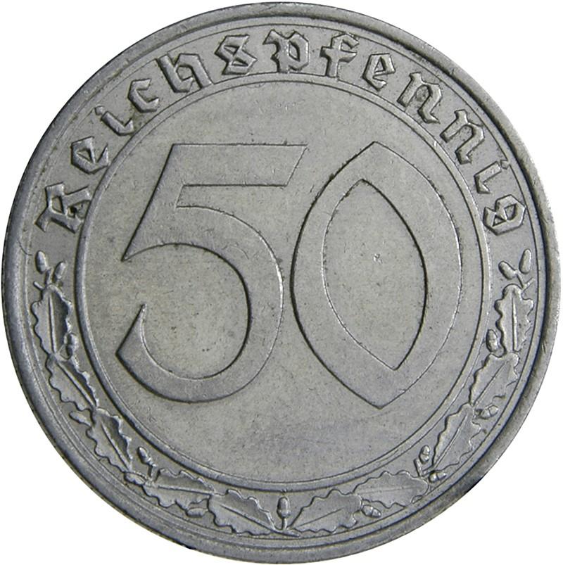 Germany 50 Reichspfennig (1938-1939)
