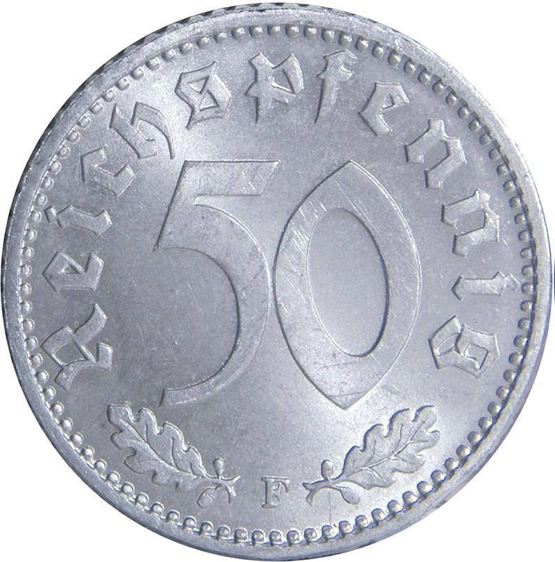 Germany 50 Reichspfennig (1939-1944)