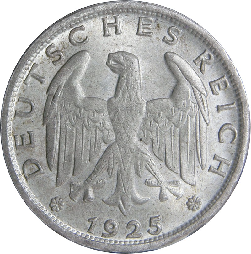 Germany 1 Reichsmark (1925-1927)