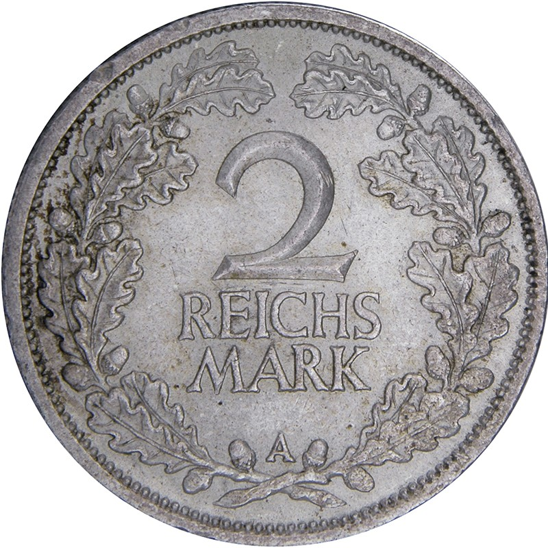 Germany 2 Reichsmark (1925-1931)