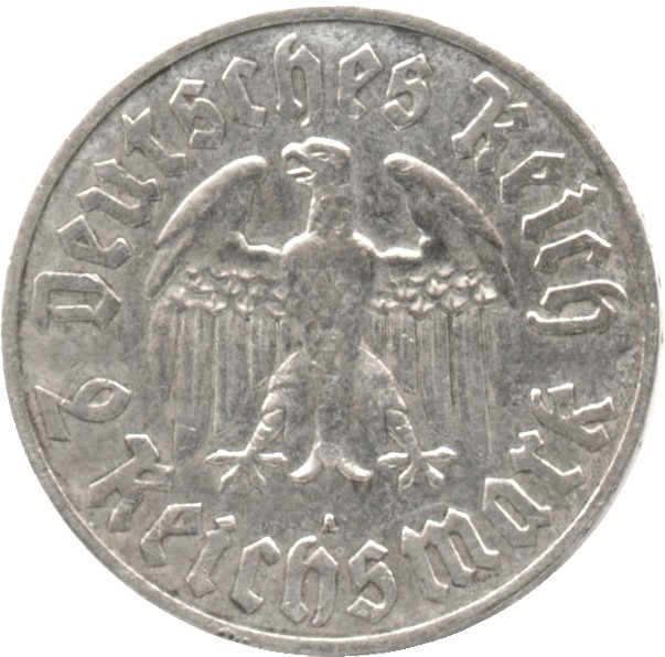 Germany 2 Reichsmark (1933 Martin Luther)
