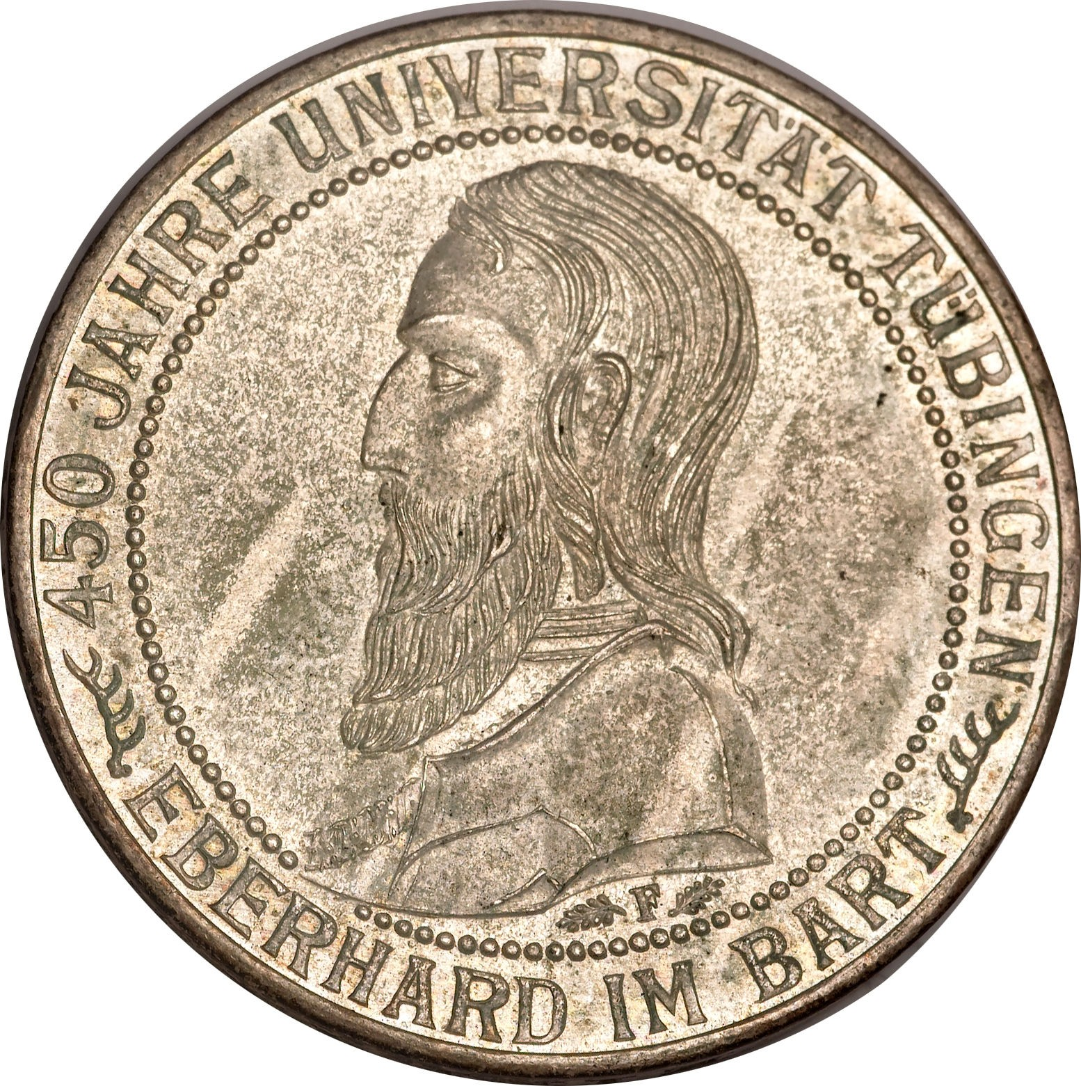 Germany 3 Reichsmark (1927 Tubingen University)