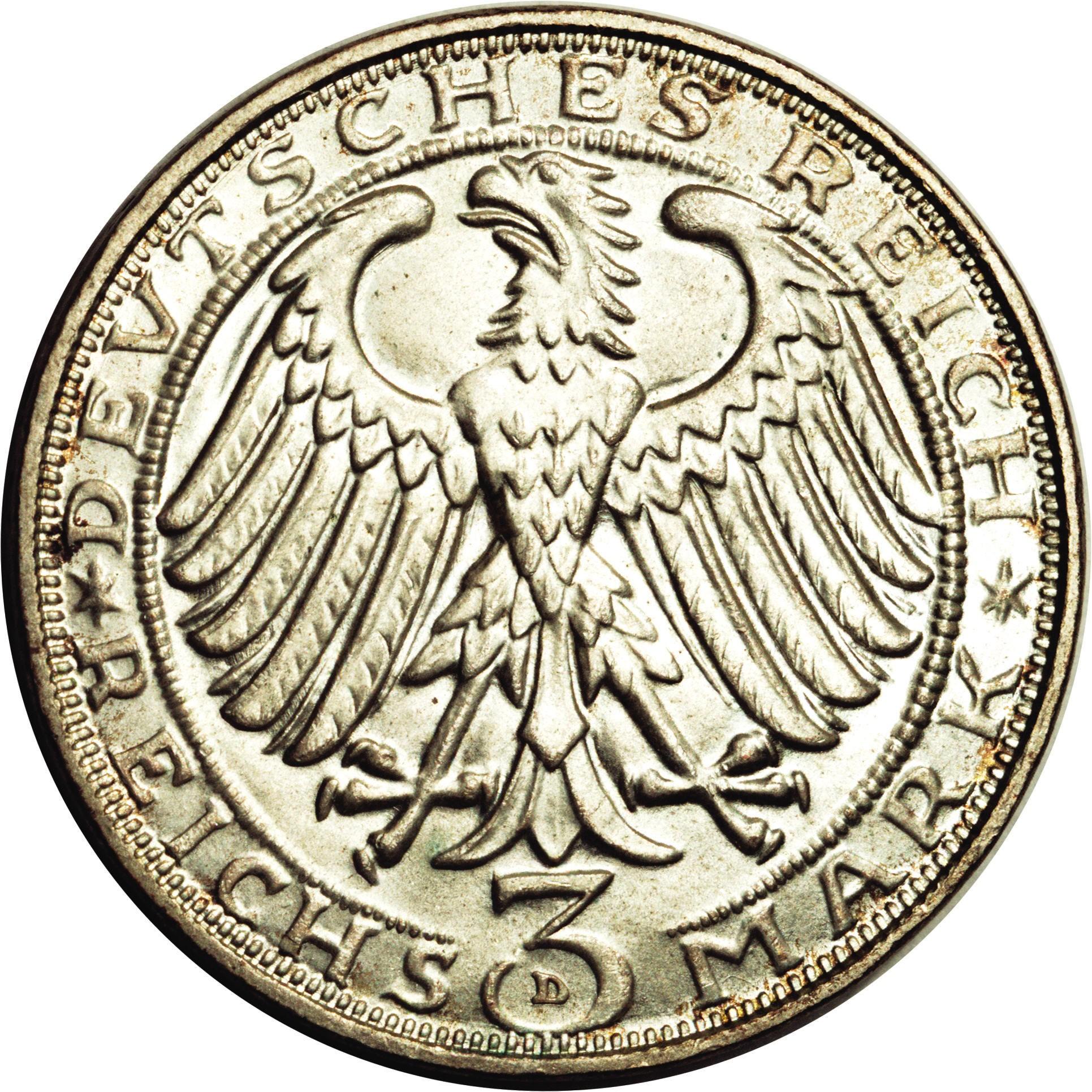 Germany 3 Reichsmark (1928 Albrecht Dürer)