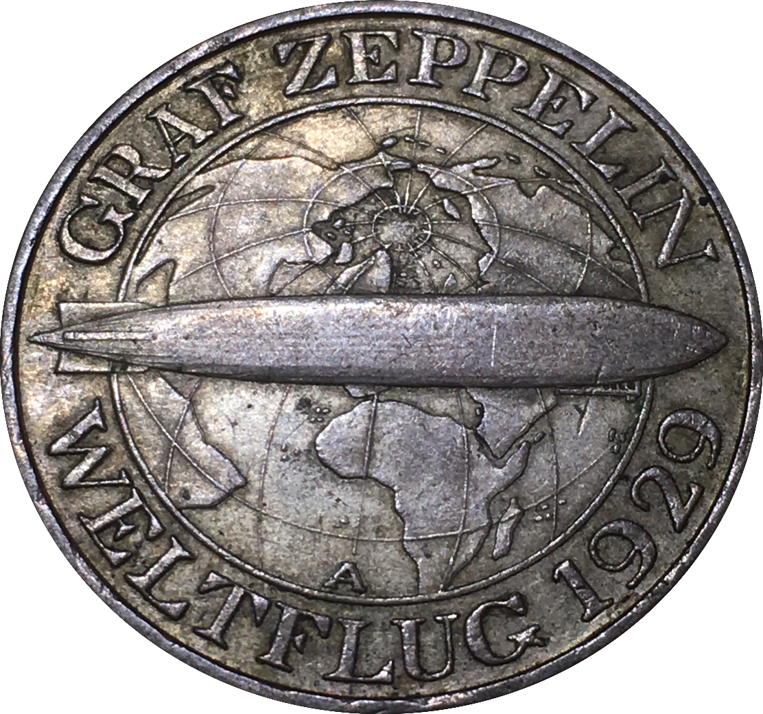 Germany 3 Reichsmark (1930 Graf Zeppelin)