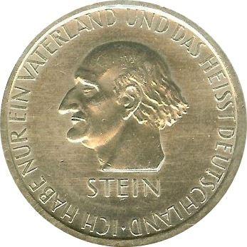 Germany 3 Reichsmark (1931 Freiherr vom Stein)