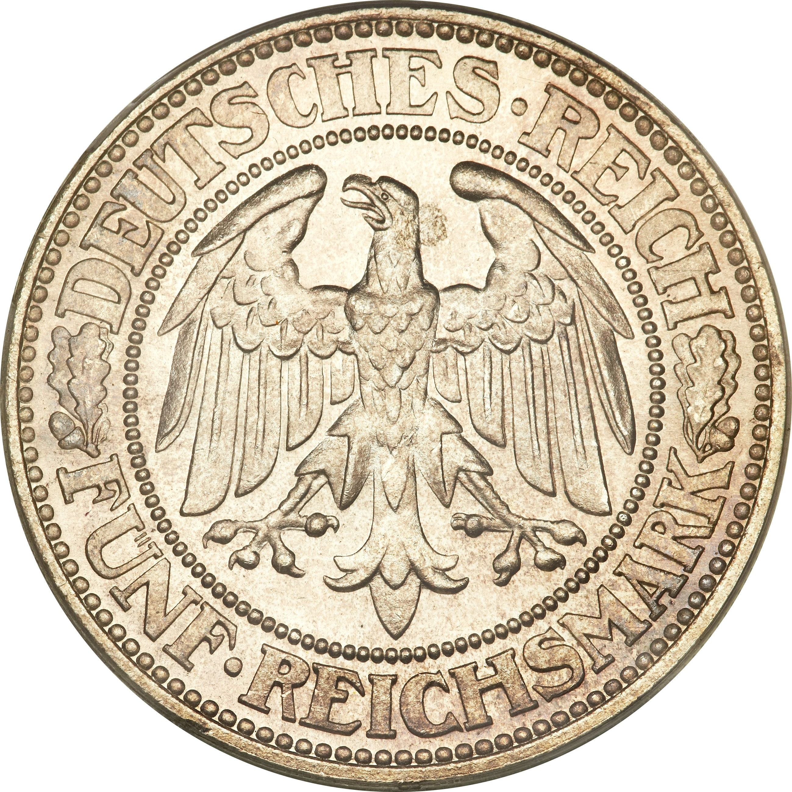 Germany 5 Reichsmark (1927-1933)