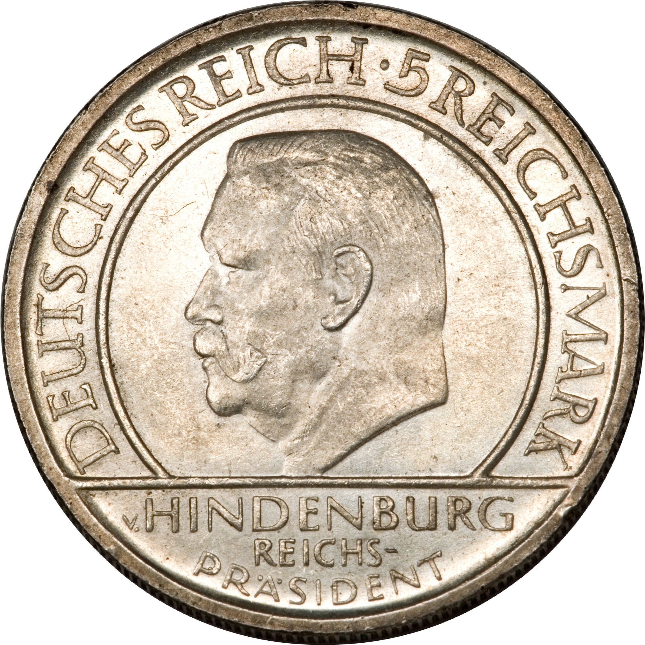 Germany 5 Reichsmark (1929 Weimar Constitution)