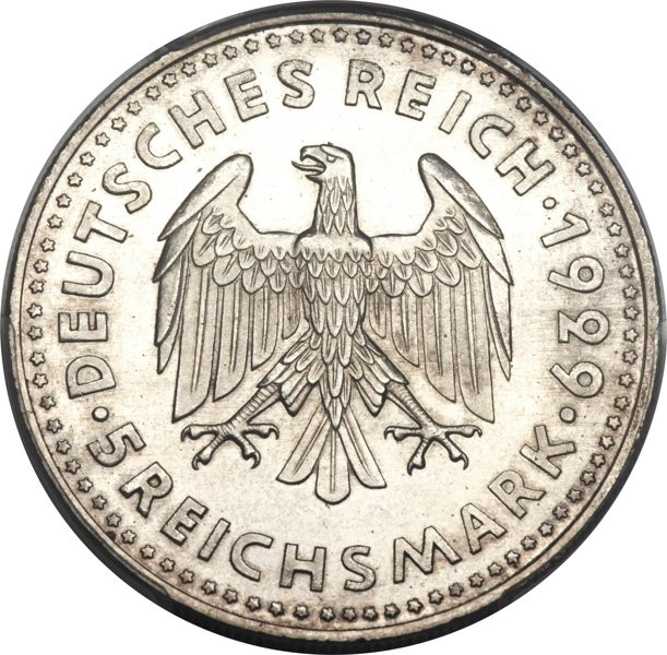 Germany 5 Reichsmark (1929 Zeppelin)