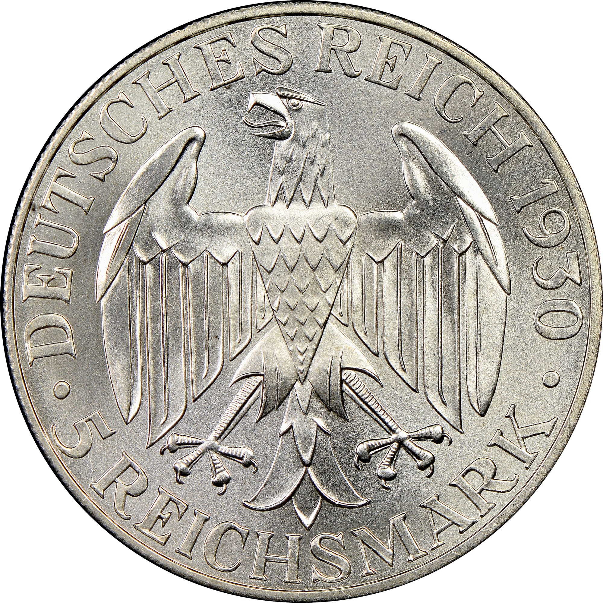 Germany 5 Reichsmark (1930 Graf Zeppelin)