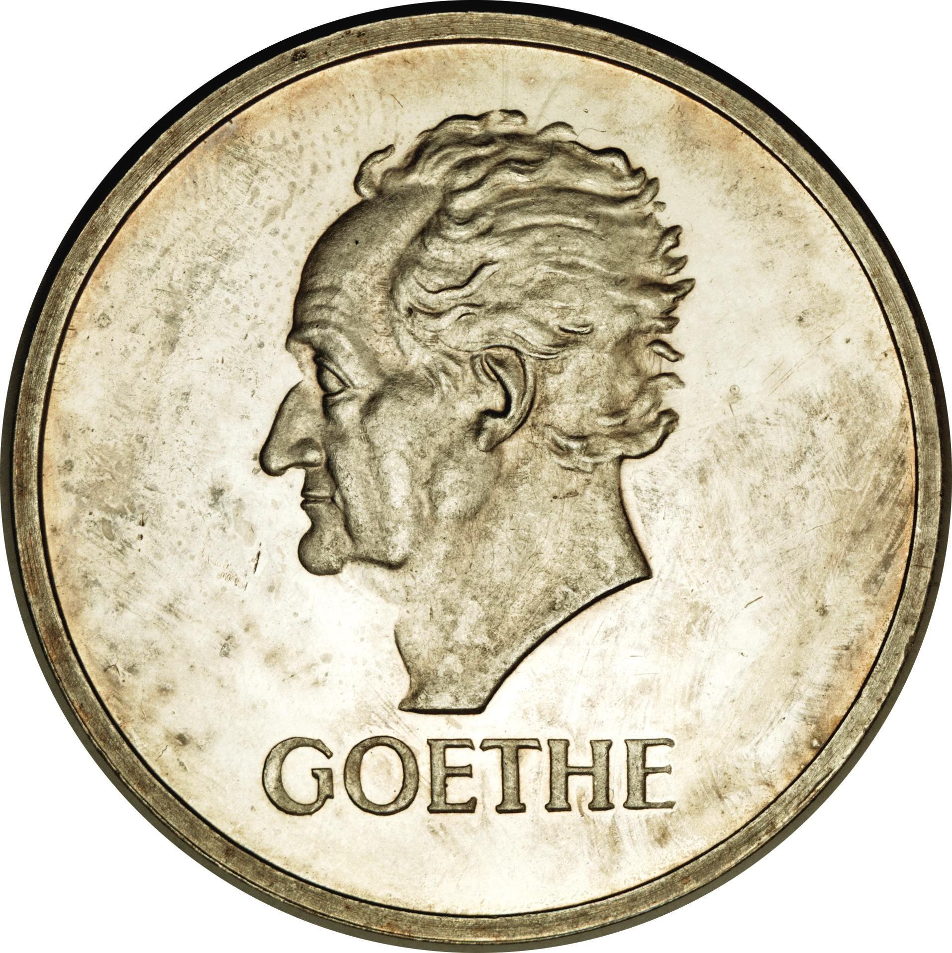 Germany 5 Reichsmark (1932 Goethe)
