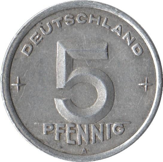 Germany 5 Pfennig (1948-1950)
