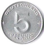Germany 5 Pfennig (1952-1953)