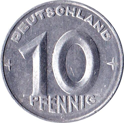 Germany 10 Pfennig (1952-1953)