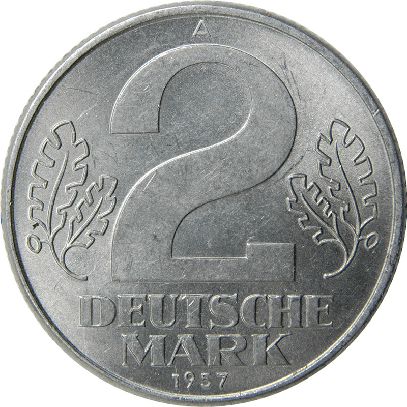 Germany 2 Deutsche Mark (1957)