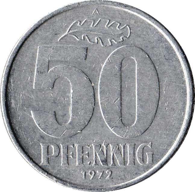 Germany 50 Pfennig (1958-1990)
