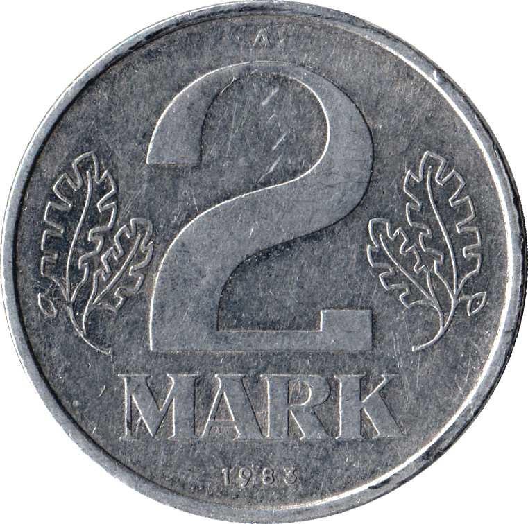 Germany 2 Mark (1972-1990)