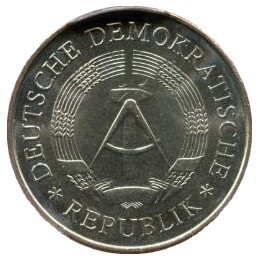 Germany 5 Mark (1969 20 Years of GDR)