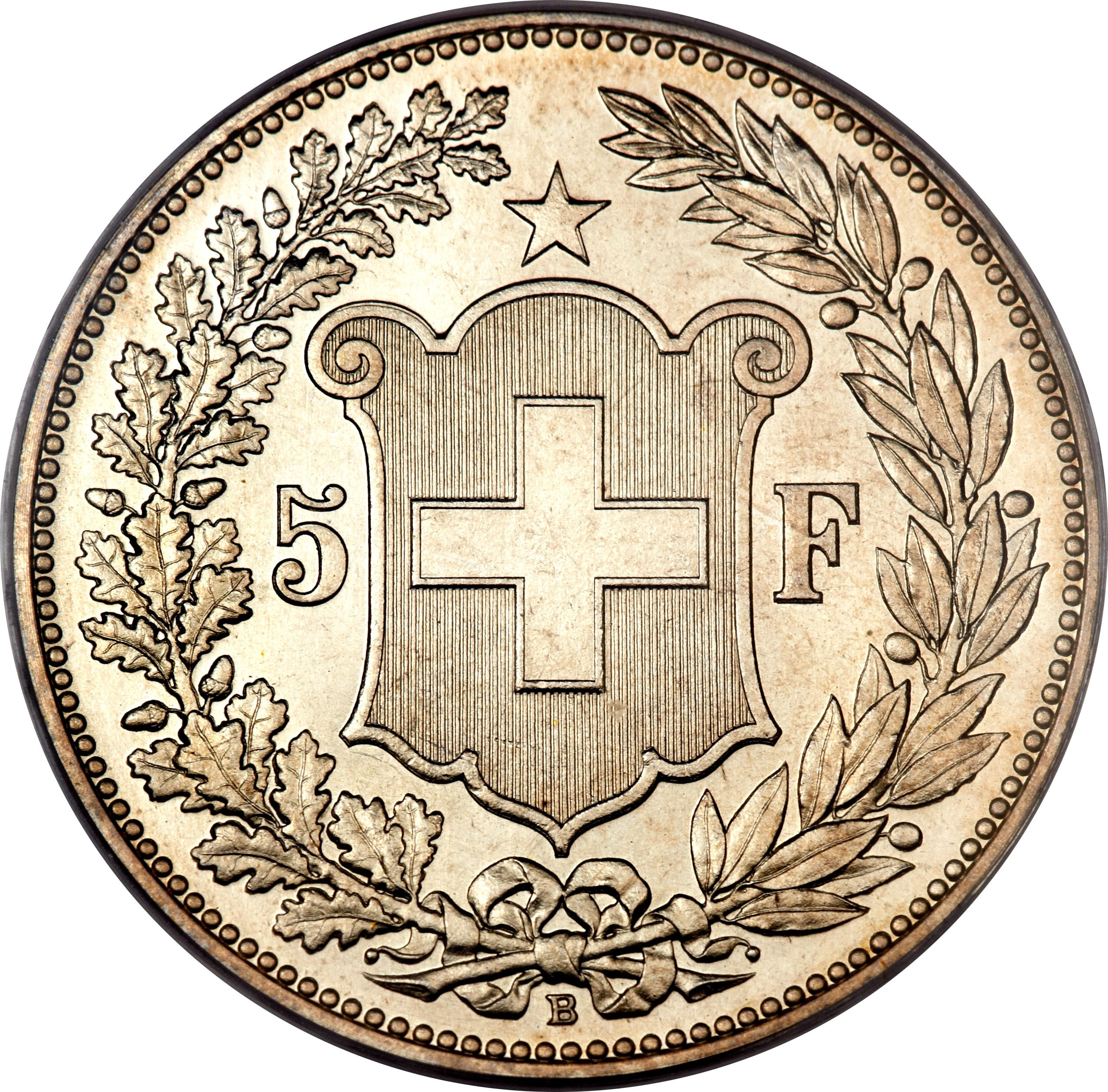 Switzerland 5 Francs (1888-1916)