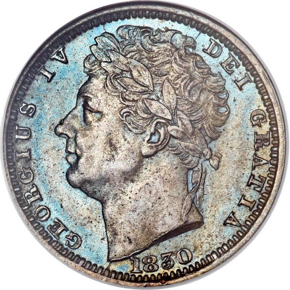 British ½ Farthing (1828-1830 George IV issues)
