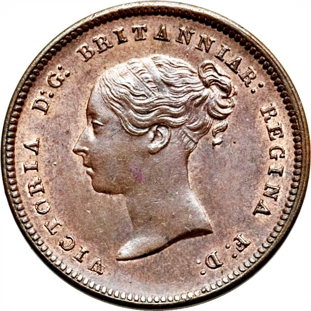 British ½ Farthing (1839-1856 Victoria)