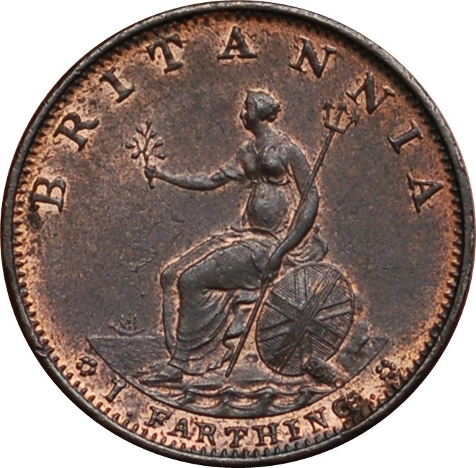 British 1 Farthing (1799 George III)