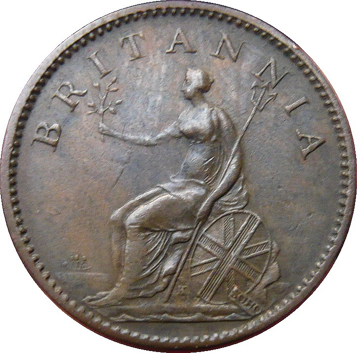 British 1 Farthing (1806-1807 George III)