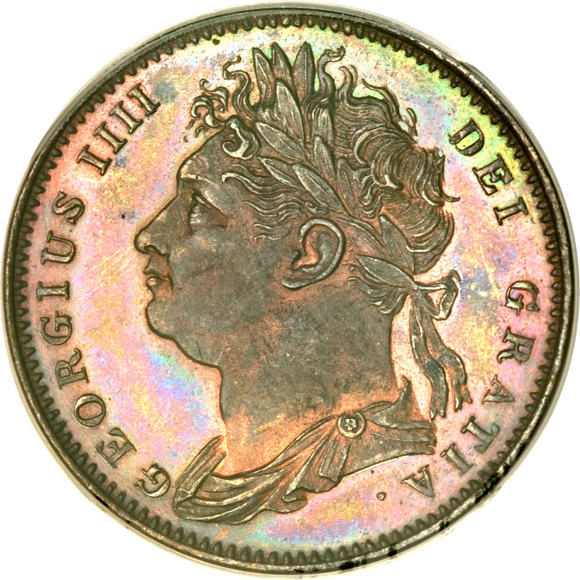 British 1 Farthing (1821-1826 George IV)
