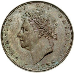 British 1 Farthing (1826-1831 George IV)