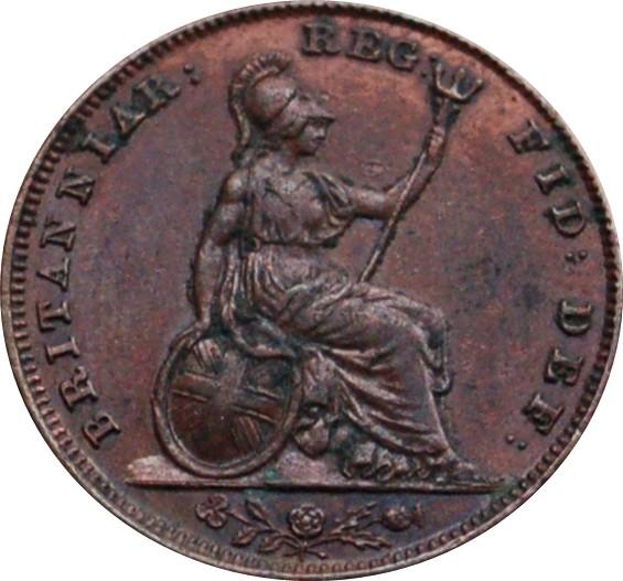 British 1 Farthing (1838-1864 Victoria)