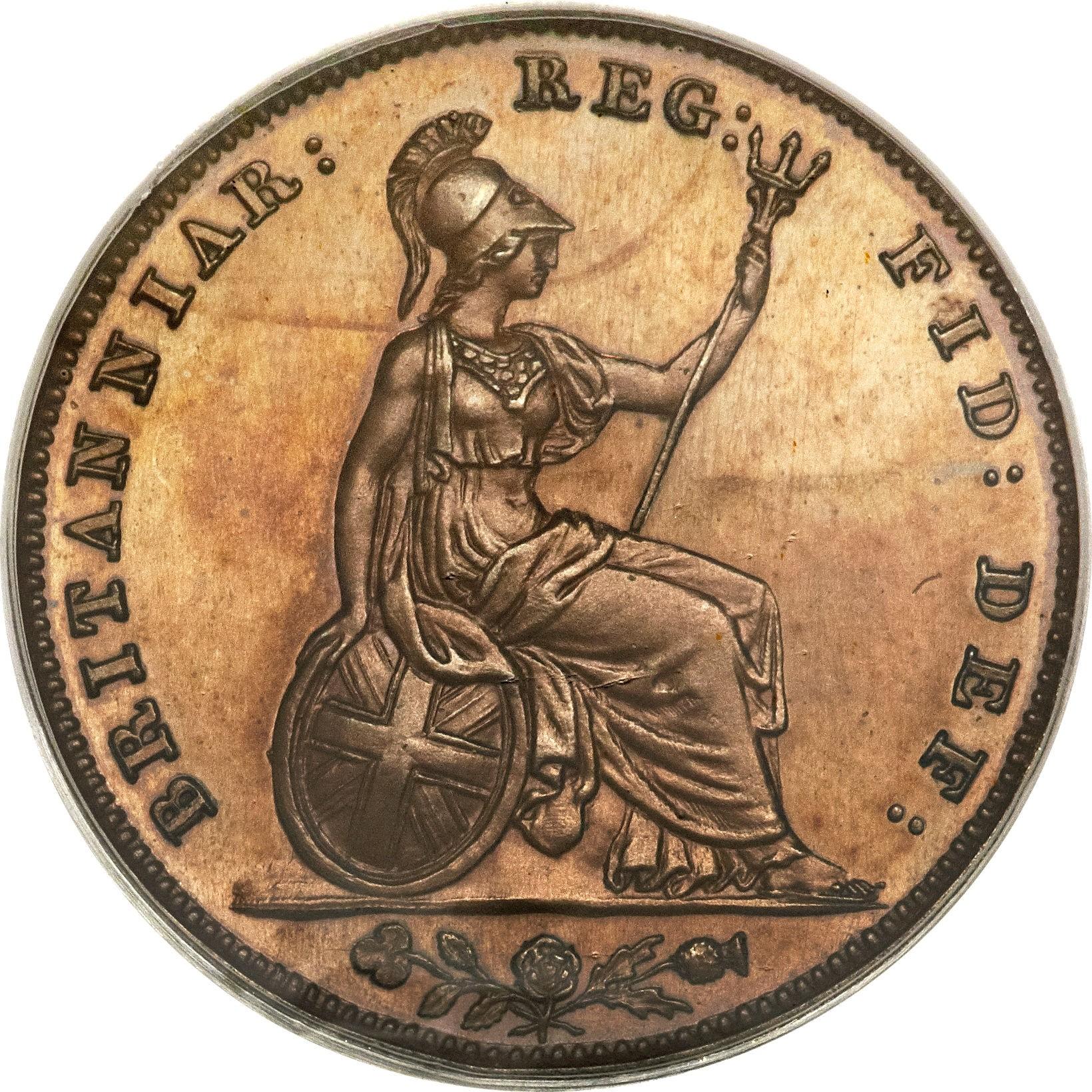 British 1 Farthing (1839-1853 Victoria)