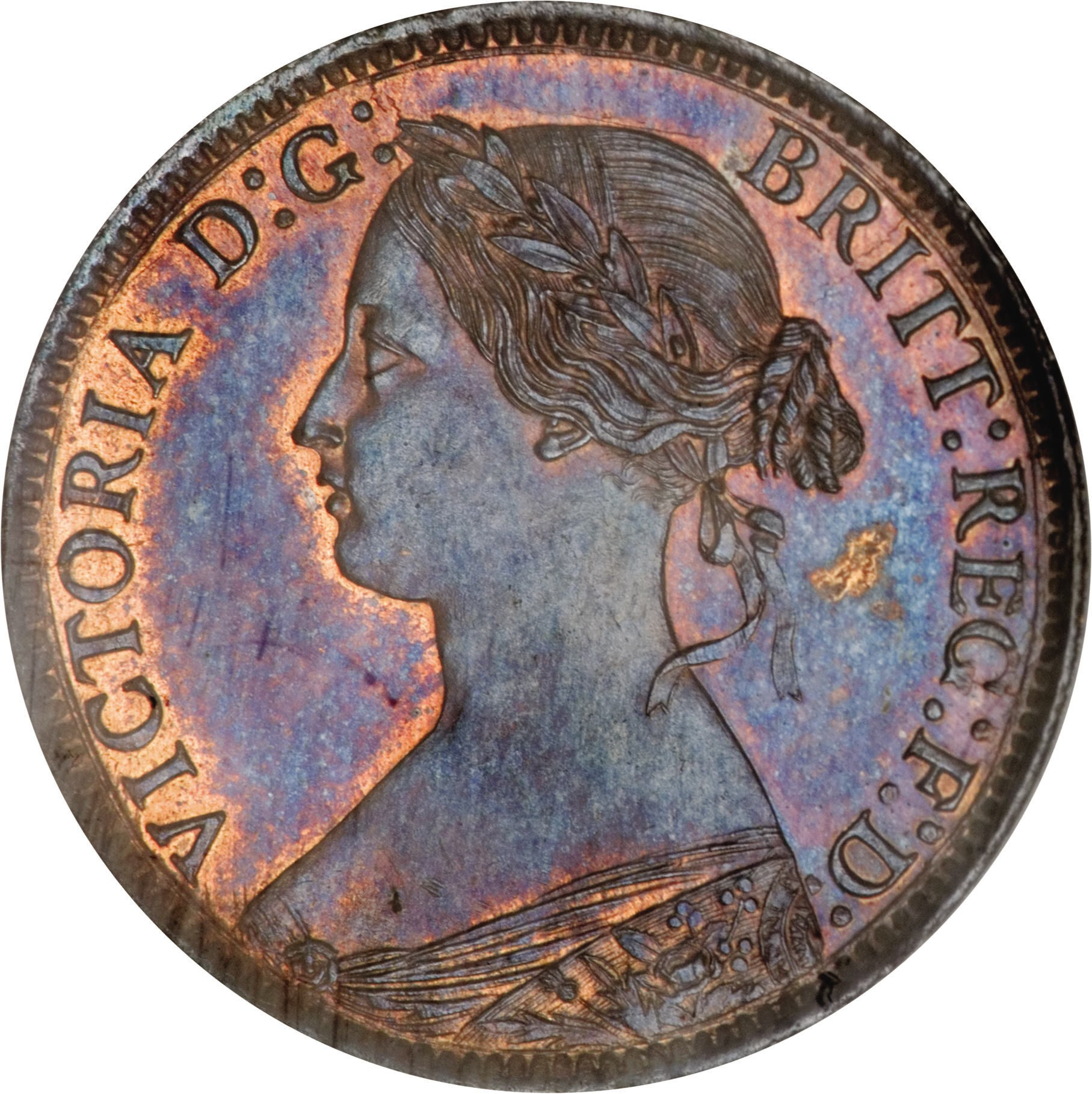 British 1 Farthing (1860-1873 Victoria)