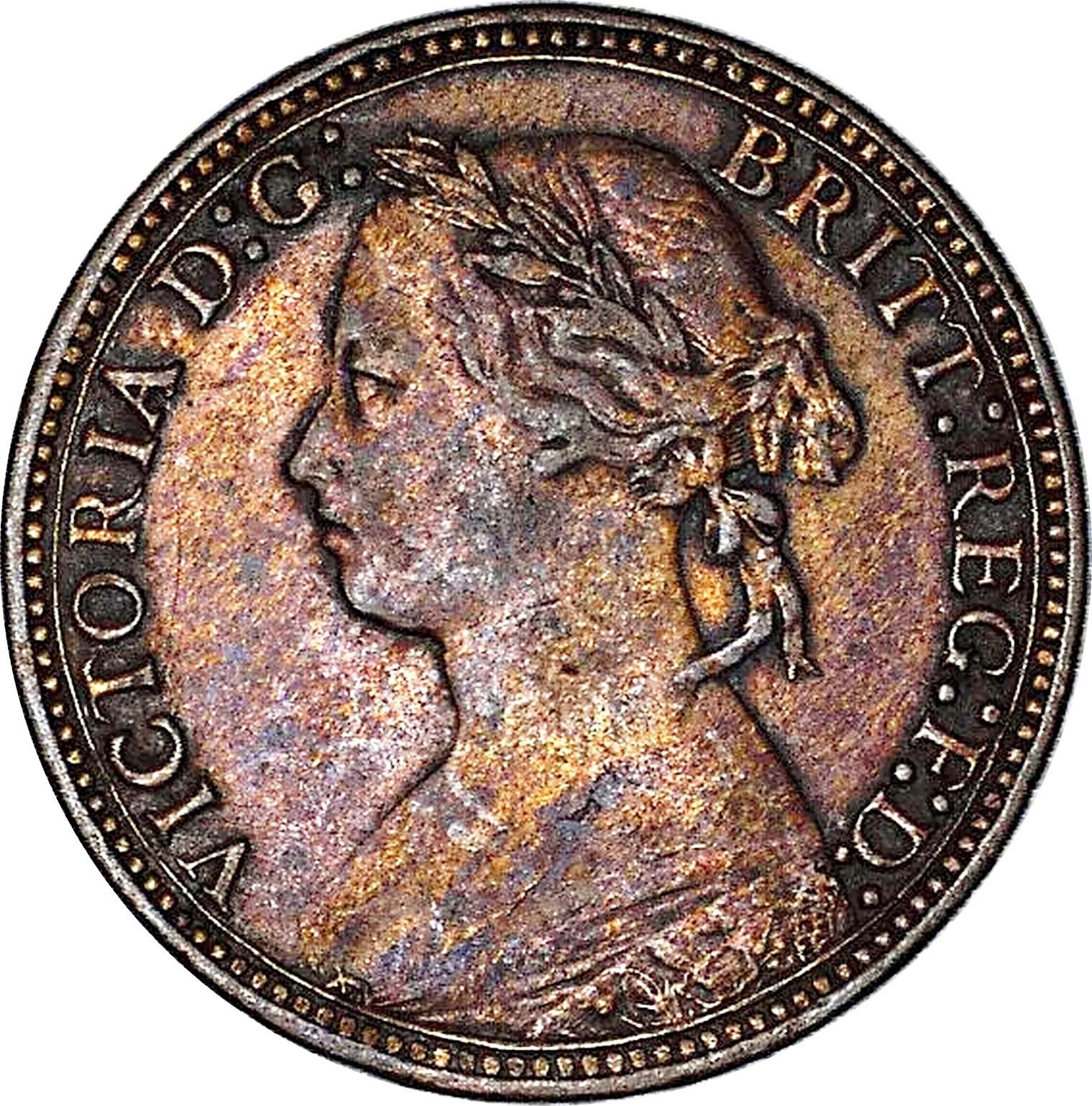 British 1 Farthing (1874-1895 Victoria)
