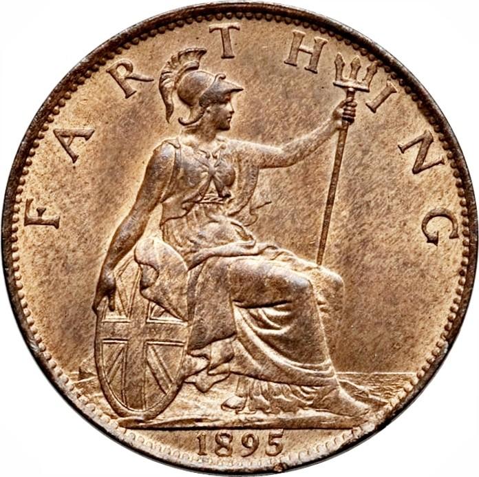 British 1 Farthing (1895-1901 Victoria)