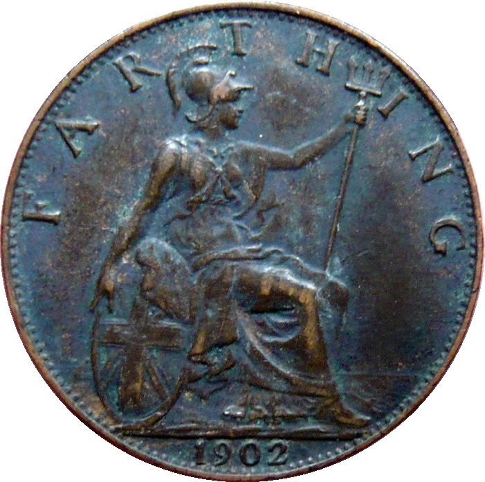 British 1 Farthing (1902-1910 Edward VII)