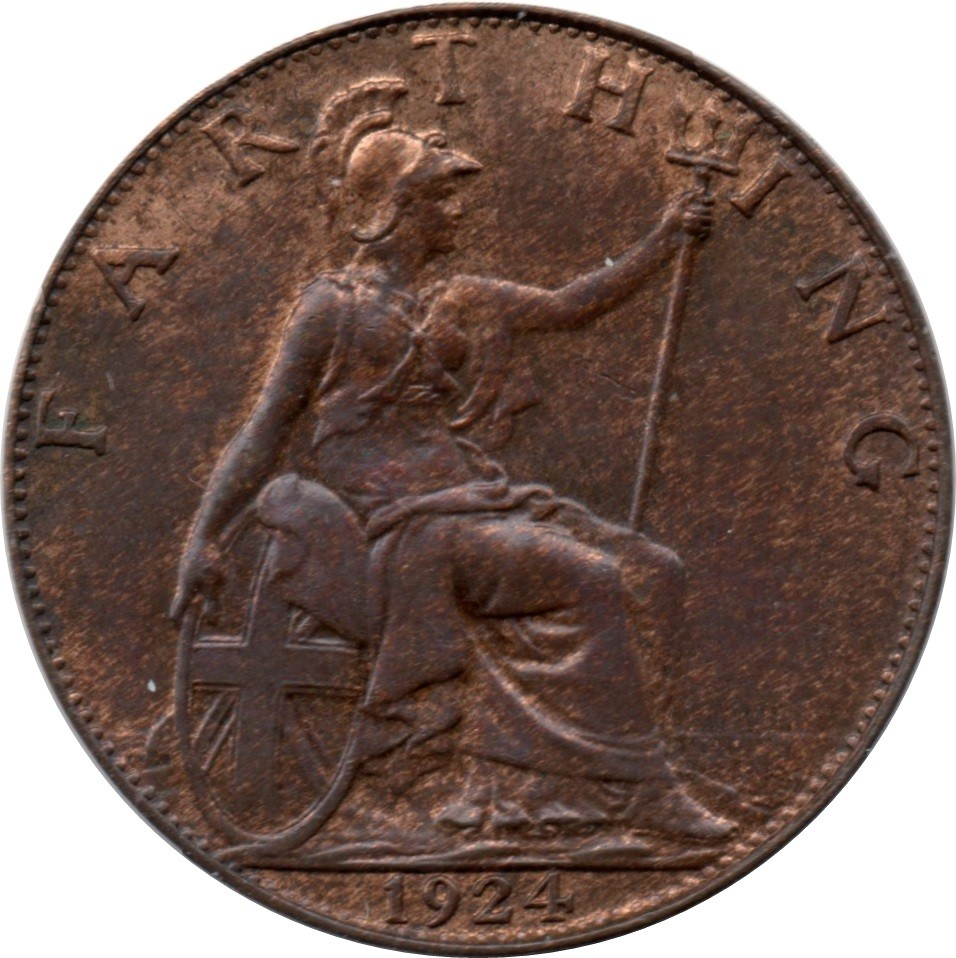 British 1 Farthing (1911-1925 George V)