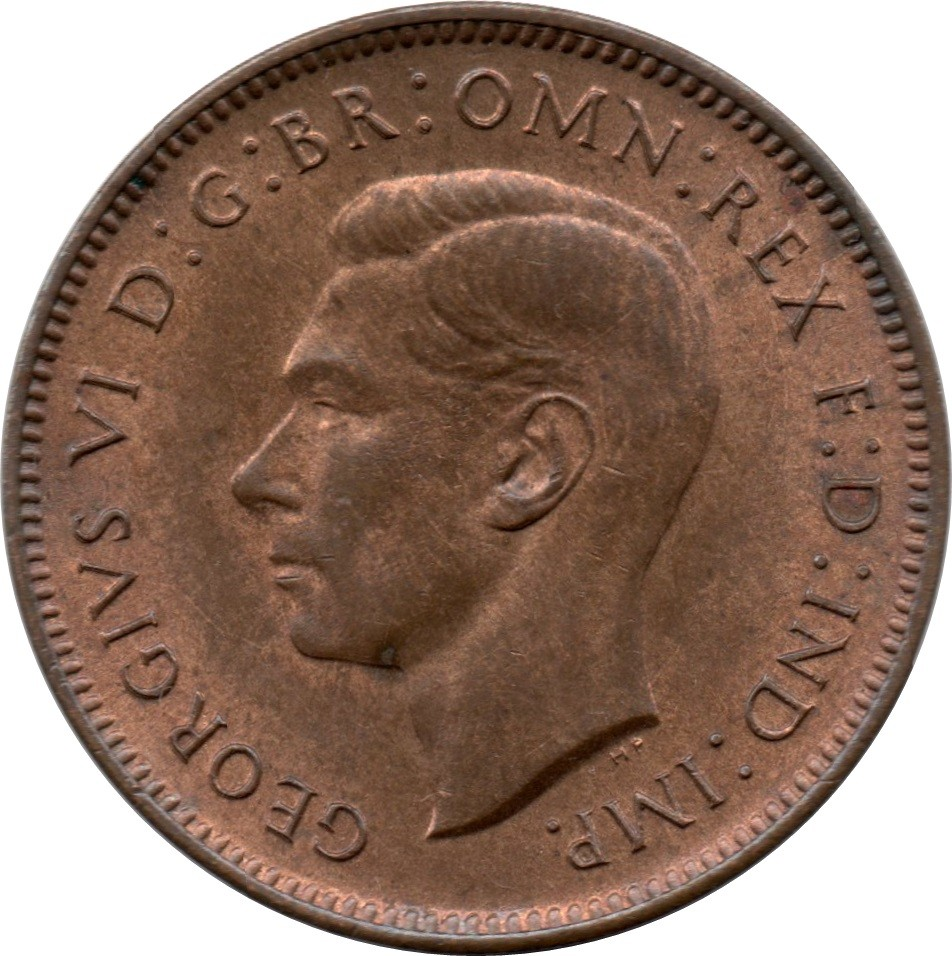 British 1 Farthing (1937-1948 George VI)
