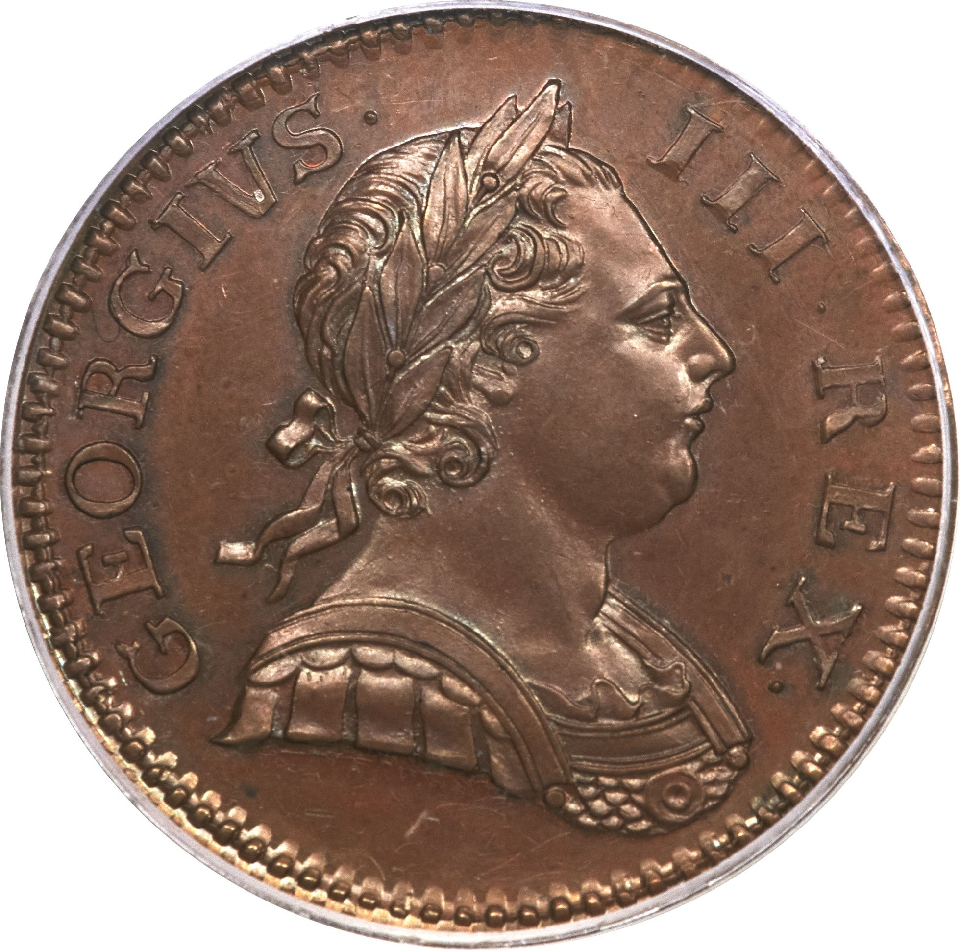 British ½ Penny (1770-1775 George III)