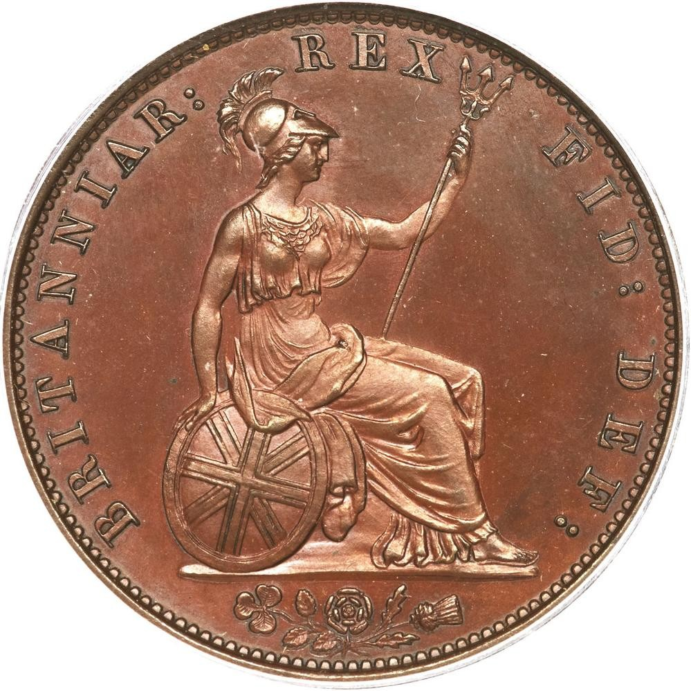 British ½ Penny (1831-1837 William IV)