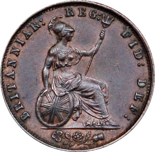 British ½ Penny (1838-1860 Victoria)