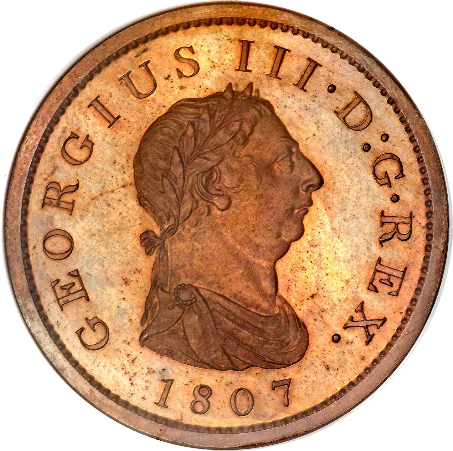 British 1 Penny (1806-1808 George III)