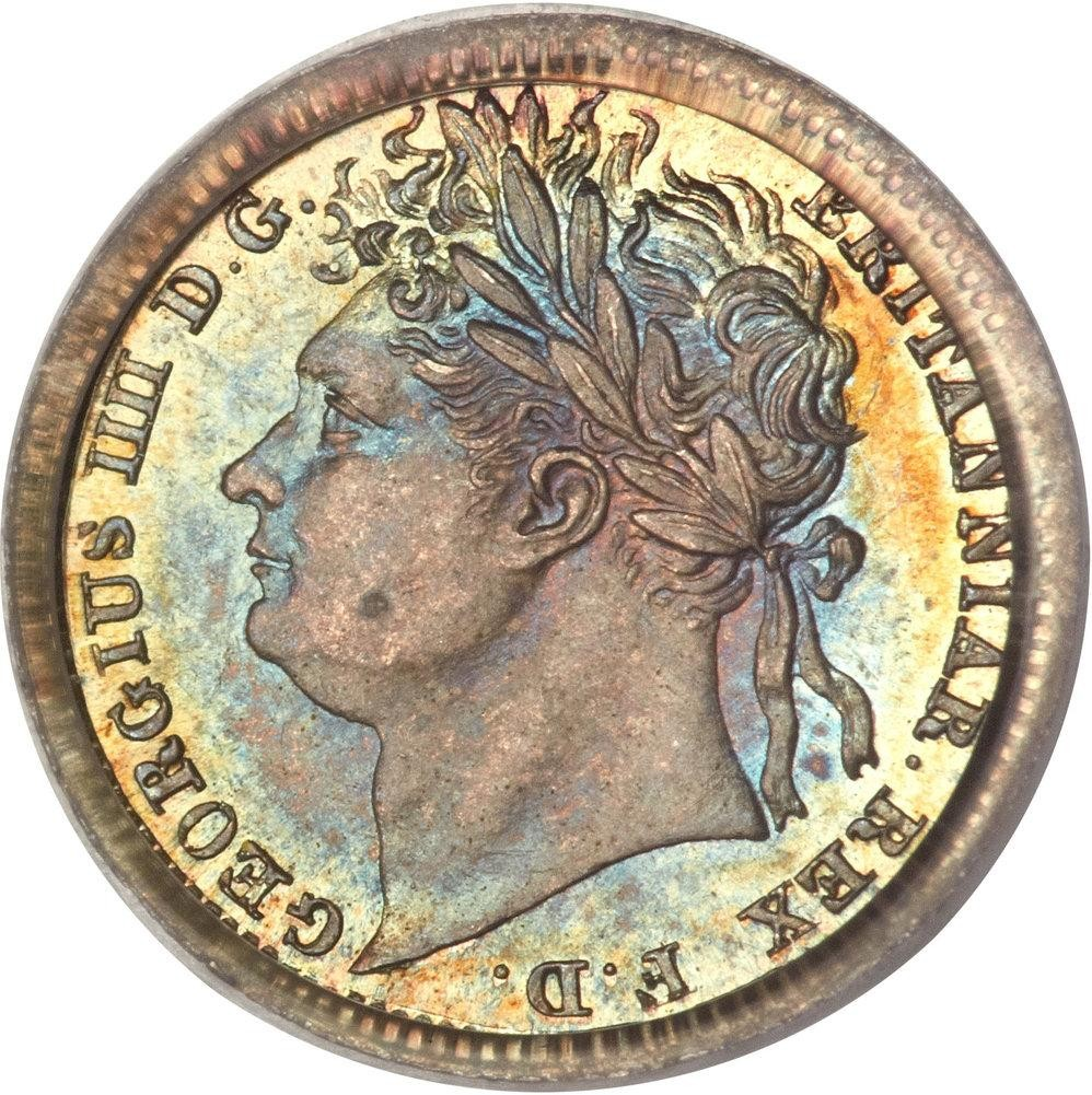 British 1 Penny (1822-1830 George IIII)